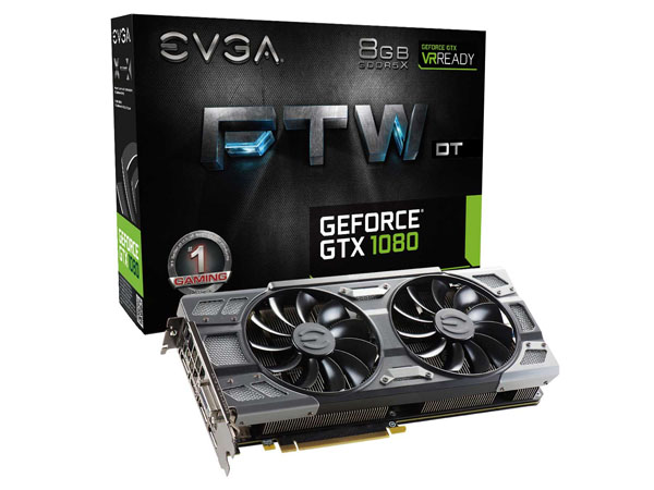 PLACA DE VIDEO EVGA PCIE GTX 1080 8GB GDDR5X FTW DT