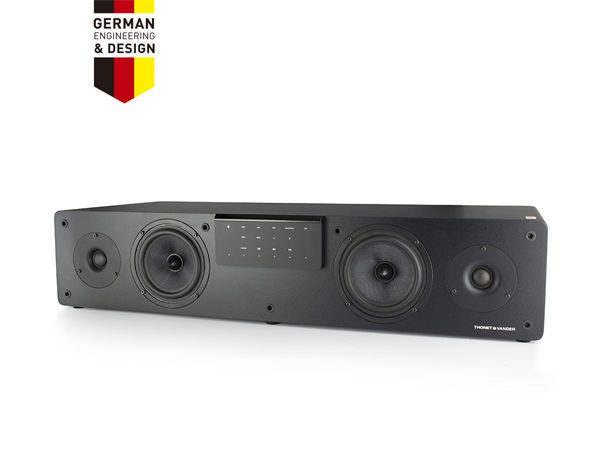 PARLANTES 2.0 T&V GRUND NEGRO 80W RMS