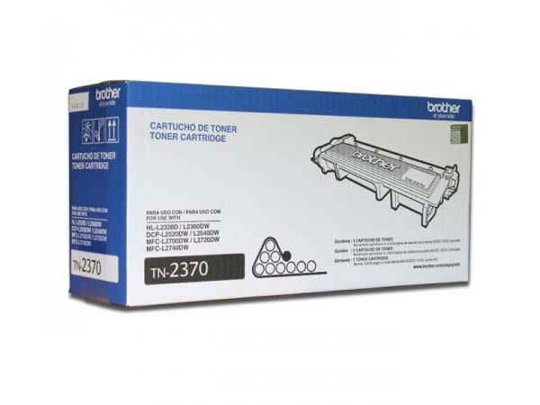 TONER BROTHER TN2370 P/2320D/2360DW/L2540DW/L2720DW
