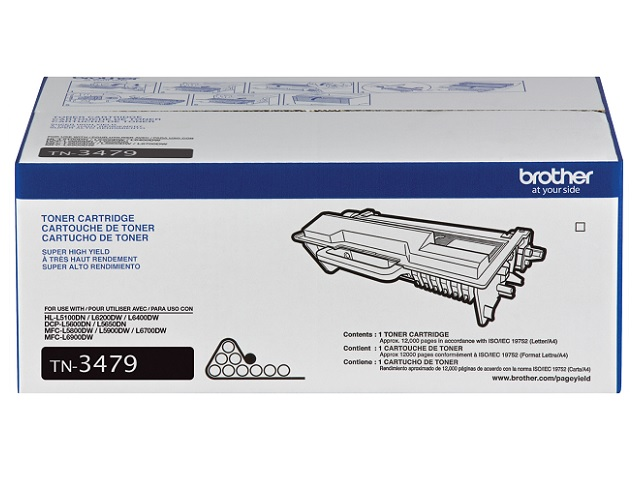TONER BROTHER TN3479 P/HL-L5100DN/L6200DW 12K