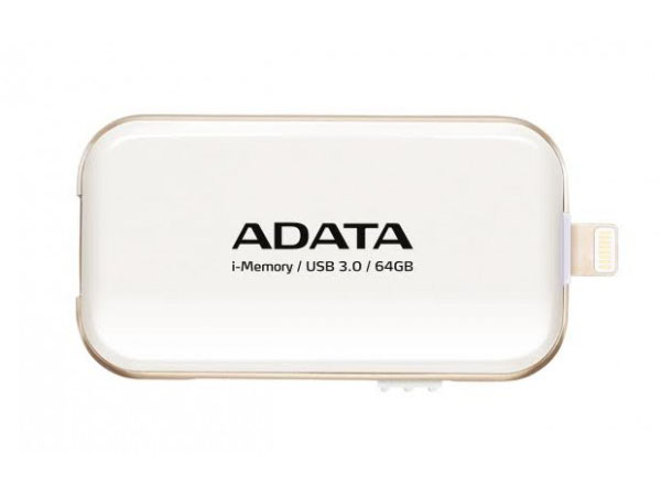 MEMORIA FLASH DRIVE PARA APPLE 64GB (BLANCO) ADATA